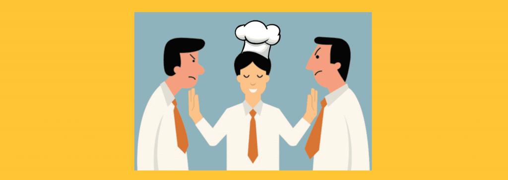 Что делать, если сотрудники ресторана ругаются друг с другом?