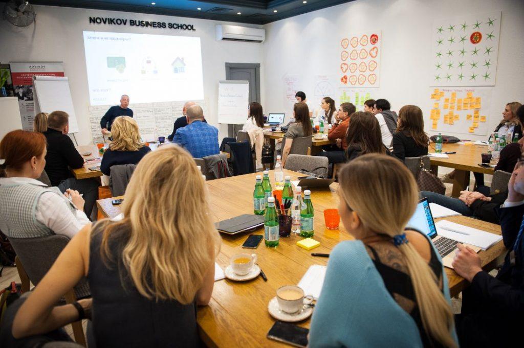 День открытых дверей Novikov Education Talks  в Novikov Business School